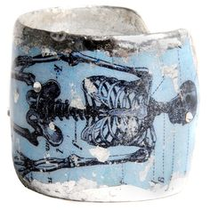 Évocateur Skeleton Cuff ($328) ❤ liked on Polyvore