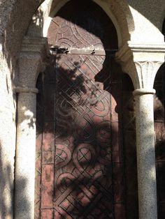 Vitrail - Cloître de Montsalvy