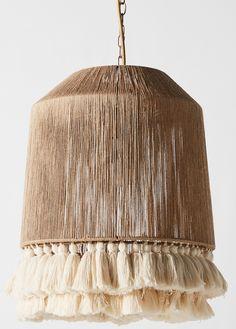 Do It Yourself Ikea, Luminaria Diy, Boho Lighting, Basket Lighting, Lighting Ideas, Lampe Art Deco, Chandelier Pendant Lights, Diy Pendant Light, Entryway Chandelier
