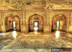 Inside Indian Temple