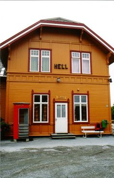 Hell railway station, Norway