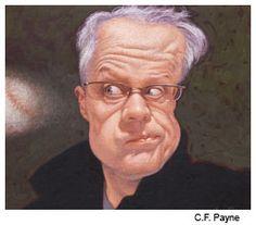 CF Payne, self portrait