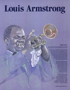Great Black Americans - Louis Armstrong Prints at AllPosters.com