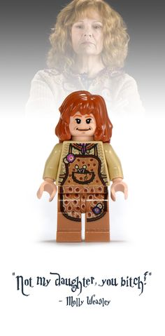 Molly Weasley Lego Minifigure - Harry Potter Collectibles