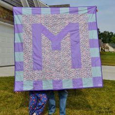 de Jong Dream House: Quilt #6: Molly's Monogram Quilt