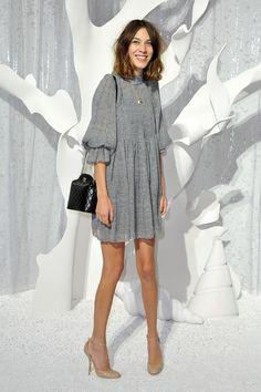 Chanel: Front Row - Paris Fashion Week Spring / Summer 2012-alexa