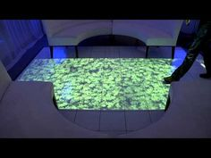 Interactive Floor - Levy Lighting NYC, iShadow  I see this all the time! and still drool over it! waaaant