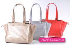 Polskiej produkcji wyjątkowe torebki damskie - zobacz beżową wersję tutaj http://torebki-damskie.eu/bezowe/1212-lakierowana-bezowa-torebka-damska-na-ramie.html