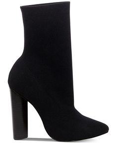 Steve Madden Women's Capitol Pointed Block-Heel Booties - Boots - Shoes - Macy's