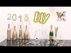 DIY výzdoba na Silvestrovskú párty   Patra Bene - YouTube Youtube, Creativity, Bottle, Diy, Decor, Decoration, Bricolage, Flask, Do It Yourself
