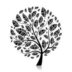 1564259-art-tree-beautiful-for-your-design.jpg (800×800)