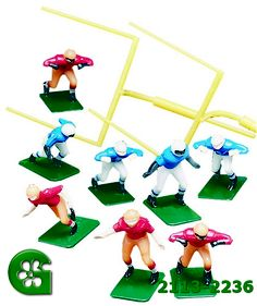 Wilton Football Team Set of 8 Football Players Cake Toppers and 2 Goal Posts in Party Decorations Football Cake Decorations, Football Cake Toppers, Football Cupcakes, Football Themes, Football Team, Cake Kit, Wilton Cake Decorating, Themed Cakes, Aviation