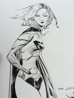 Arte original del maestro Jae Lee, en La Mole Comic Con 2015