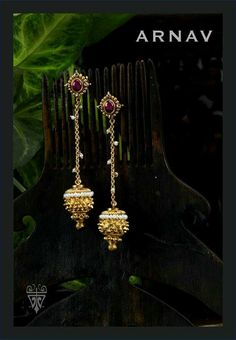 Organic Gardening In Containers Gold Earrings Designs, Gold Jewellery Design, Trendy Jewelry, Simple Jewelry, Jewelry Model, India Jewelry, Simple Earrings, Saris, Jewelry Patterns