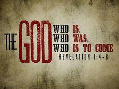 Revelation 1:4-8