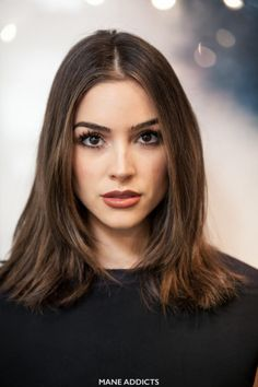 Hair Olivia Culpo Haircut with Jen Atkin BEFORE Why Wedding Checklist Is Important? Hairstyles Haircuts, Pretty Hairstyles, Straight Hairstyles, Clavicut, Olivia Culpo Hair, Medium Hair Styles, Short Hair Styles, Medium Long Hair, Hair Crimper
