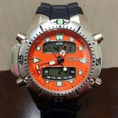 2ccb5604c05 Relógio Aqualand Citizen Eco Drive importado e a prova d água