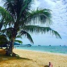 Someone's toe and the beach at Cape Panwa Hotel - photo courtesy of Instagram and amiecarlyle_