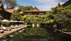 La Residence d'Angkor in Cambodia - saltwater pool #JetsetterCurator
