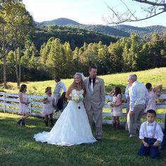 Amy and Derek's wedding at Mountain Laurel Farm @mtnlaurelfarm #mtnlaurelfarm www.MtnLaurelFarm.com @amyc48