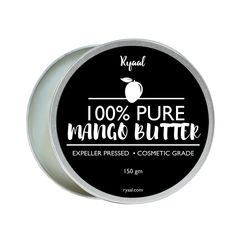 Ryaal Organic Mango Butter for Dry Skin and Hair Care