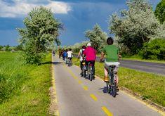Popular Holiday Destinations, May 12, Bike Path, Retail Logo, Hungary, Photo Editing, Royalty Free Stock Photos, Spa, Bicycle
