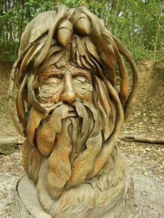 Amazing to think this was carved out of wood - wow