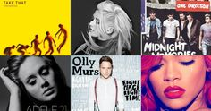 Official Biggest Selling Albums of the decade so far revealed
