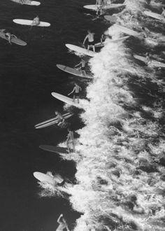 Surfer photo - Malibu, Calif., 1961.#photography #photojournalism #blackandwhite