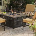 Propane Gas Fire Pit Table---want. Garden fairy...where are you? Drop on back deck please...