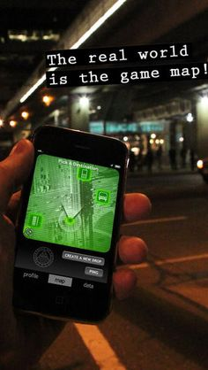 CodeRunner (RocketChicken Interactive, CA 2012) - GPS spy game for iOS