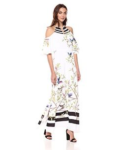 Ted Baker Women's Yarpa Dress, White, 4   #FreedomOfArt  Join us, SUBMIT your Arts and start your Arts Store   https://playthemove.com/SignUp