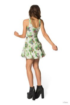 Welcome to the Jungle Book Reversible Skater Dress - Black Milk Clothing