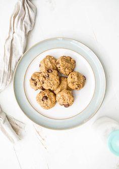Gluten-Free Peanut Butter Oatmeal Chocolate Chip Cookies (vegan)