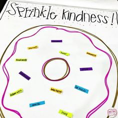 Sprinkle Kindness FREEBIE for The Jelly Donut Difference