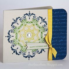 Charlet's Website - Daydream Medallions stamp set. Inspired by Terri. :)