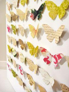 #butterfly #canvas #paper #craft #art