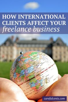 7 Things to Do Before Working With International Clients by Kayla for Careful Cents