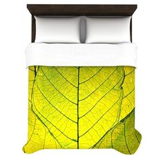 Found it at Wayfair - Every Leaf a Flower by Robin Dickinson Featherweight Duvet Cover
