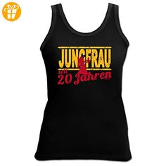 4Girls Geburtstags TankTop <-> Jungfrau seit 20 Jahren <-> Fun Geschenk, Goodman Design® (*Partner-Link)