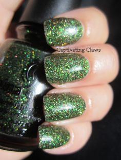 Captivating Claws- China Glaze Winter Holly