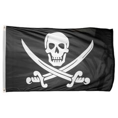 Cheap US Flag Store Printed Polyester Pirate Jack Rackham Flag, 3 by 5-Feet. Click Image For Details.