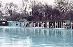 An Old Photo of the Open Air Lido in Southwark Park Bermondsey to Rotherhithe South East London England