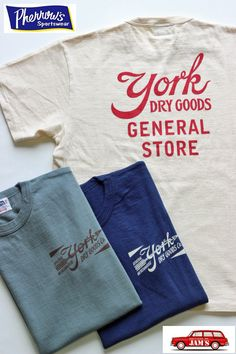 ************************************************************「YORK」と言うショップのスタッフTシャツ。*****************… Shirt Print Design, Tee Design, Shirt Designs, Diy Shirt, Tee Shirts, Aesthetic Shirts, Vintage Outfits, Vintage Fashion, Clothing Photography