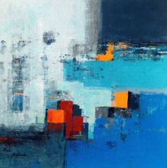 "Saatchi Art Artist Beata Belanszky-Demko; Painting, ""Beyond the City"" #art"