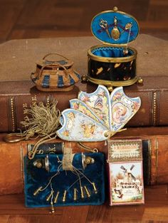 """For the Love of the Ladies"" - October 1-2, 2016 in Phoenix, AZ: 52 Collection of Miniature Needlework Accessories for Poupees"