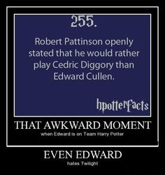 Even Rob Patterson agrees ! Twilight blah