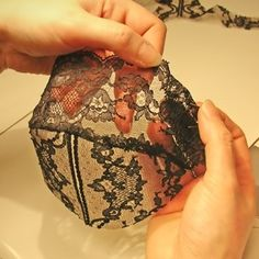 Lingerie craftsmanship www.utelier.com
