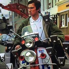 Jimmy.. Quadrophenia.. Mod Scooter, Scooter Girl, Fred Perry Polo Shirts, Fishtail Parka, Mod Look, Mod Girl, Harrington Jacket, Rude Boy, Slim Fit Chinos