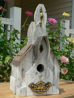 Bird House's, feeder's & bath's on Pinterest | Birdhouses, Bird ...